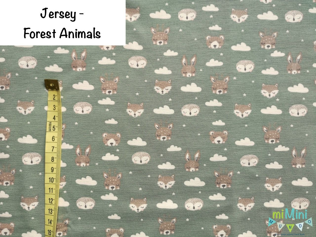 Jersey - Forest Animals